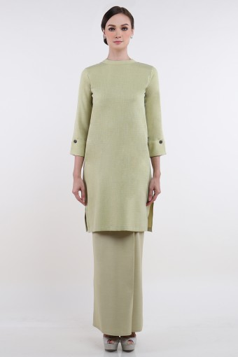 Souffle Tess in Apple Green