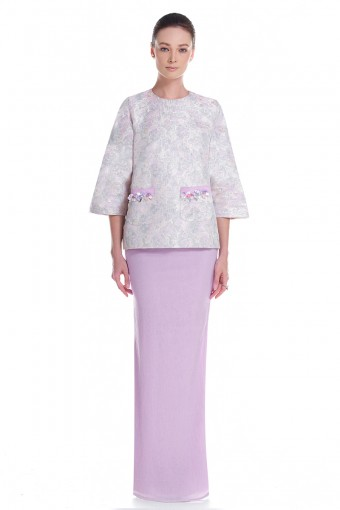 Angel Kurung in Purple