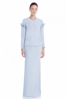 Asella Kurung in Blue