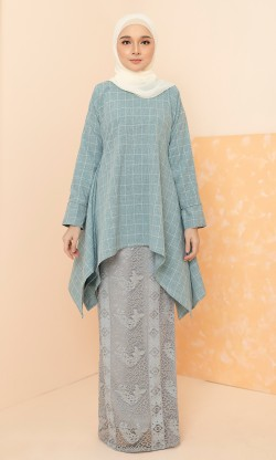 Avery Kurung in Blue