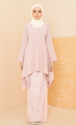 Avery Kurung in Pink