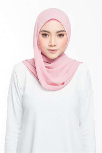Mia Shawl in Blush Pink