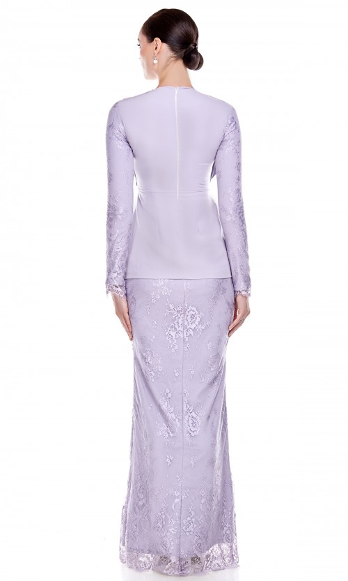 Aylene Kurung in Light Purple