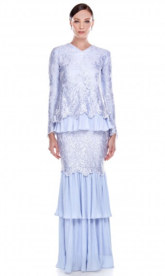 Carmelita Kurung in Blue