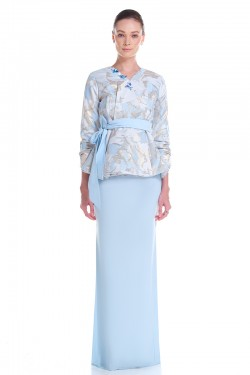 Efilda Kurung Reben in Blue