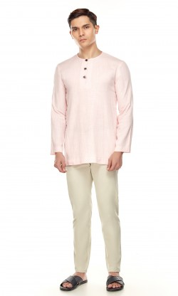 Emiir Kurta in Light Pink