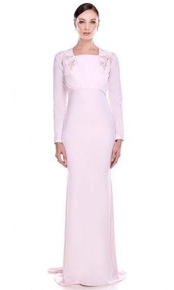 Evita Dress in Light Pink