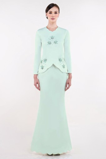 Ezinne Brides in Mint Green
