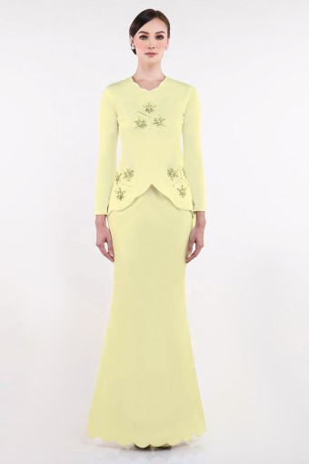 Ezinne Brides in Soft Yellow