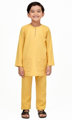 Farabi T Belanga Kids in Royale Yellow
