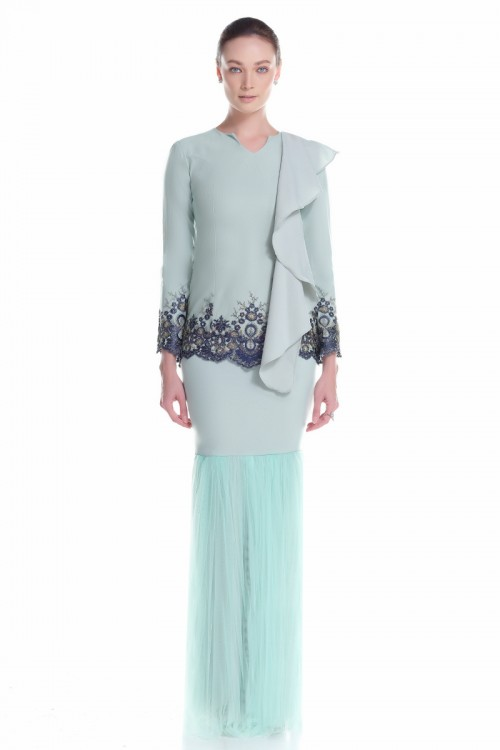 Fermin Kurung in Dusty Green