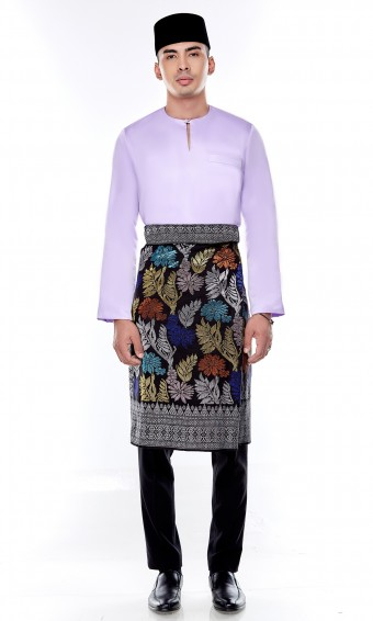Jebat Kurta Top in Orchid Purple