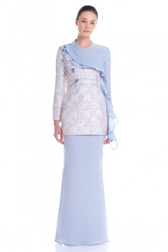 Jayda Kurung in Blue