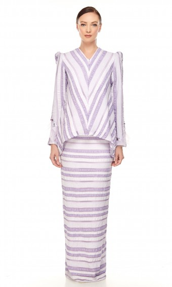 Luna Kurung in Purple