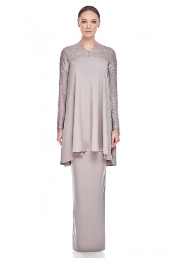 Lumi Kurung in Walnut