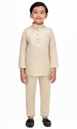 Mizan Kids in Light Beige