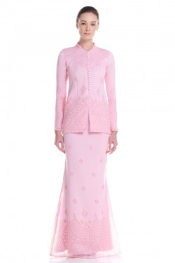 Madelyn Kurung in Pink