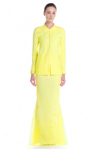 Madelyn Kurung in Yellow