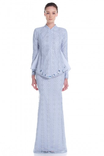 Mireya Kurung in Powder Blue