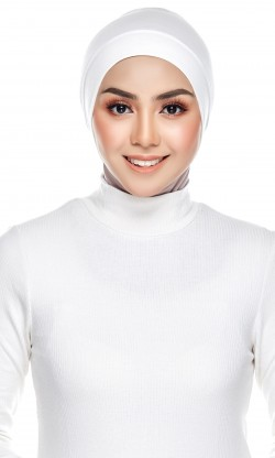 Rania Inner Cap in Snow White