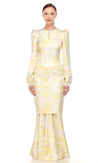 Roisin Kurung in Chrysanthemum Yellow