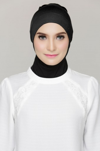 Rania Inner Cap in Black