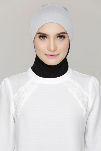 Rania Inner Cap in Light Grey