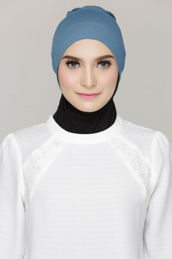 Rania Inner Cap in Steel Blue