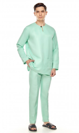 Sufyan Teluk Belanga in Mint Green
