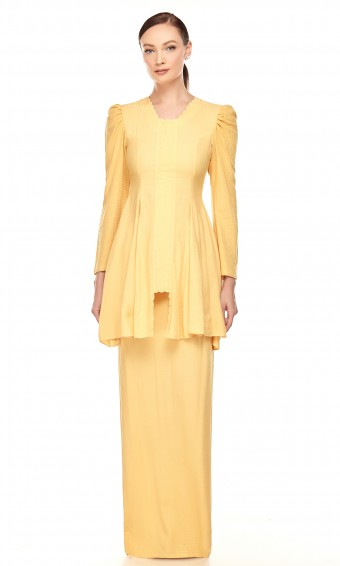Tanjung Kebaya in Yellow