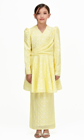 Trisya Kids in Lemon Yellow