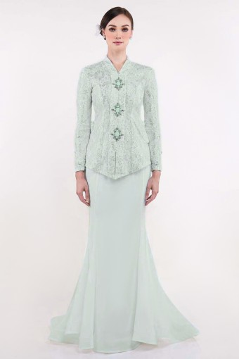 Tarnya Brides in Apple Green