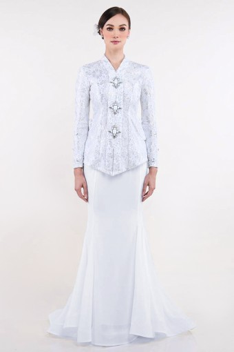 Tarnya Brides in Off White