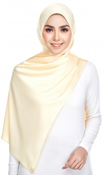 Grecia Shawl ( Soft Satin ) in Yellow