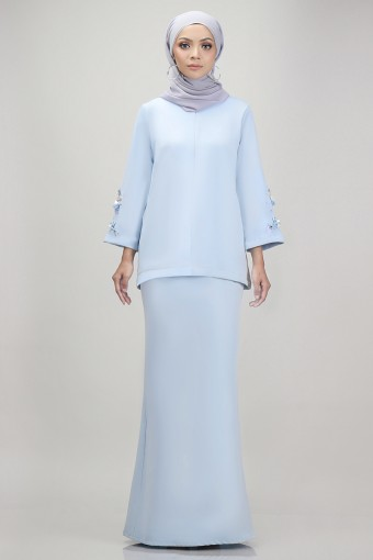 Edith Kurung in Baby Blue