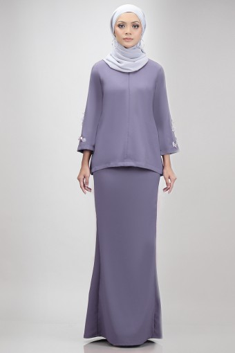 Edith Kurung in Dusty Purple