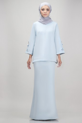 Edith Kurung in Light Blue