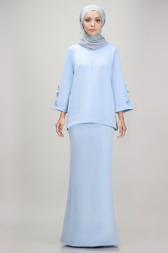 Edith Kurung in Sky Blue