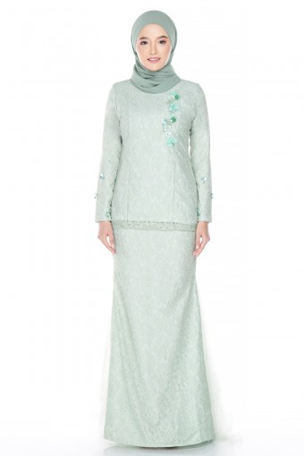 Harida Brides in Apple Green