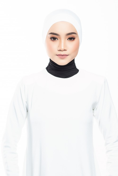 Rania inner Cap in White