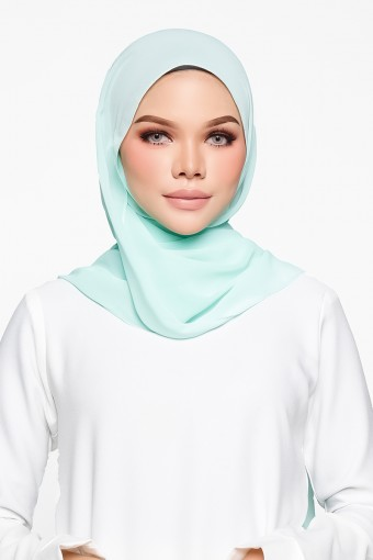 Mia Shawl in Mint Green