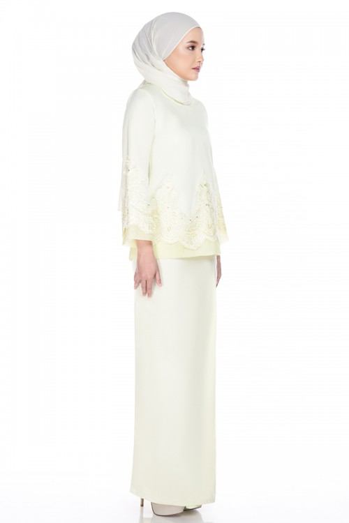 Areta Brides In Soft Yellow